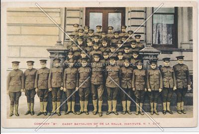 "Company ""B"" Cadet Battalion Of De La Salle Institute, N.Y. City"