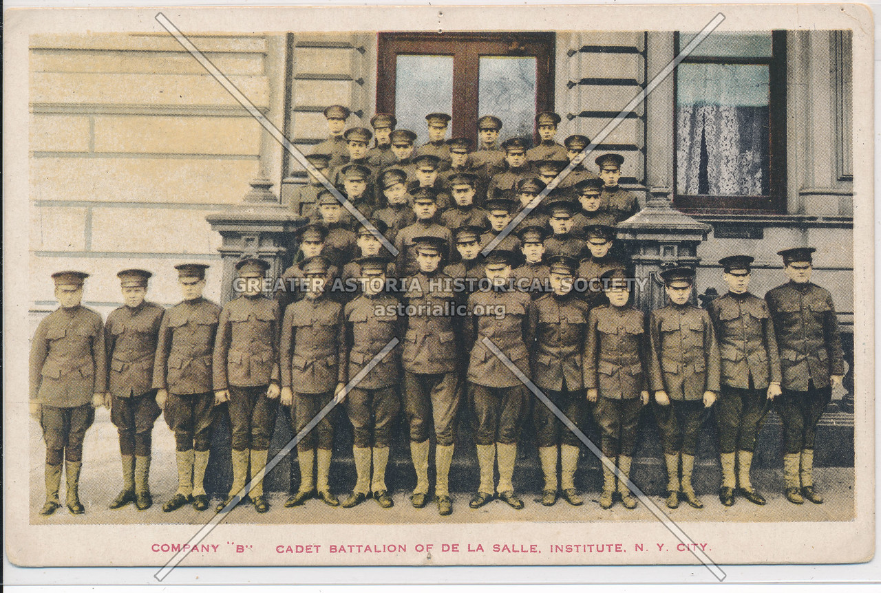 "Company ""B"" Cadet Battalion Of De La Salle Institute, N.Y. City"