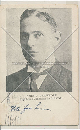 James C. Crawford, Prohibition Candidate for Mayor