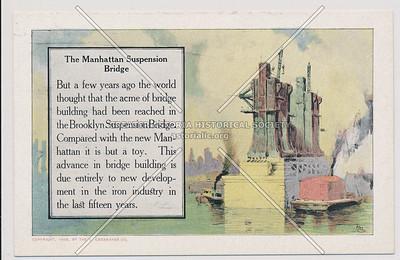 The Manhattan Suspension Bridge
