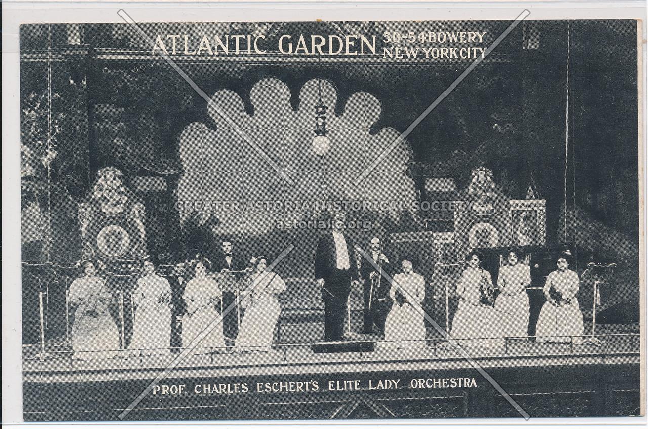 Atlantic  Garden Prof. Charles Eschert's Elite Lady Orchestra