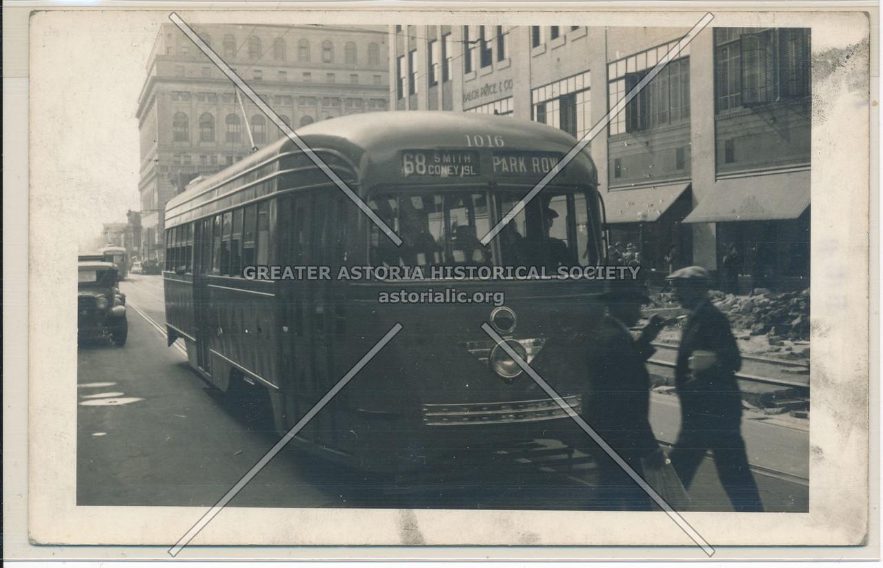 120 Schermerhorn St., Brooklyn, NY 1930s Streetcar
