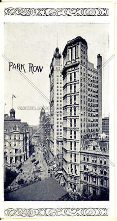 Souvenir of New York City: Park Row