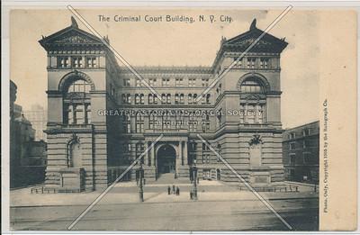 Criminal Court Building, N.Y. City.