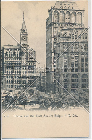 Tribune and Am Tract Society Bldgs., N.Y. City.