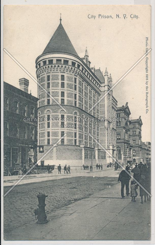 City Prison, N.Y. City
