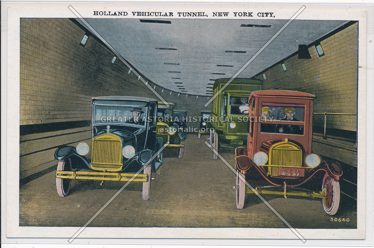 Holland Vehicular Tunnel, New York City.