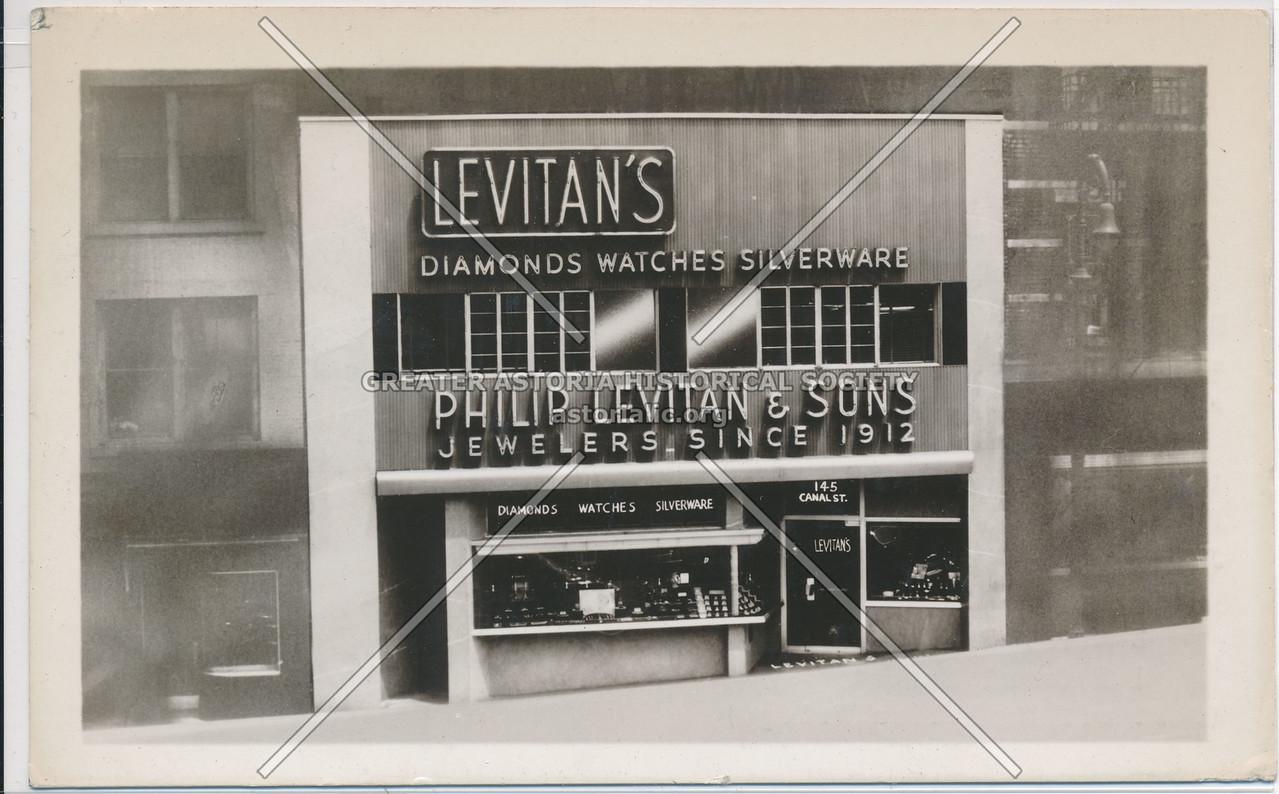 Levitan's Diamonds, Watches, Silverware