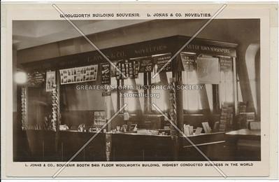 Woolworth Building Souvenir. L. Jonas & Co. Novelties