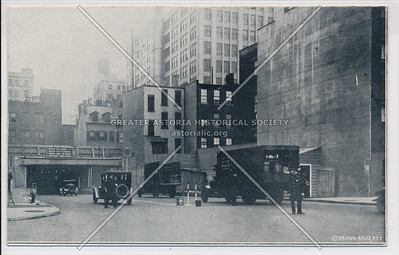 Entrance to Holland Tunnel