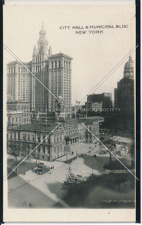 City Hall & Municipal Bldg. New York