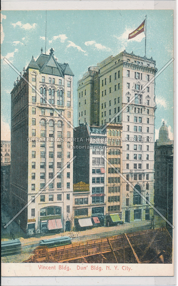 Vincent Bldg., Dun' Bldg. N.Y. City
