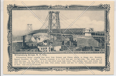 Williamsburg Bridge, N.Y. City