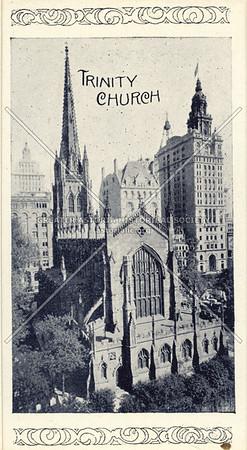 Souvenir of New York City: Trinity Church