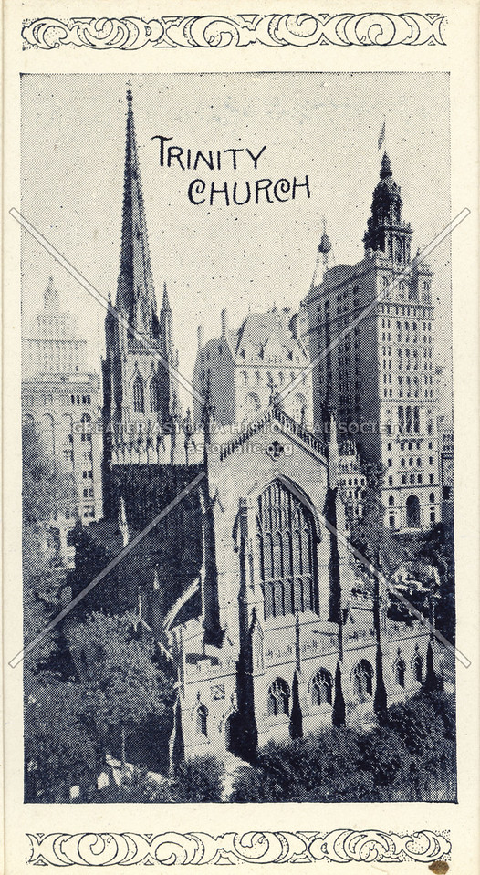 Souvenir of New York City: Trinity Church