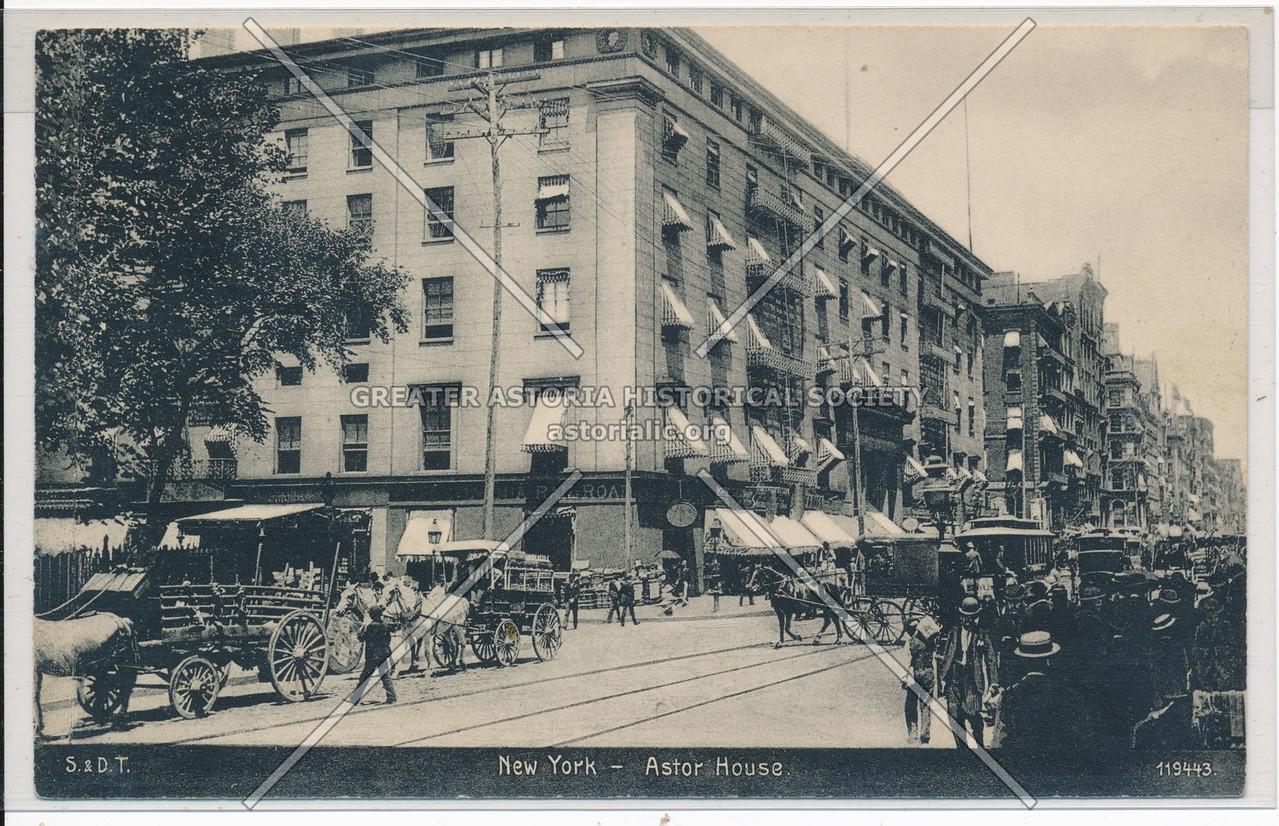 New York- Astor House