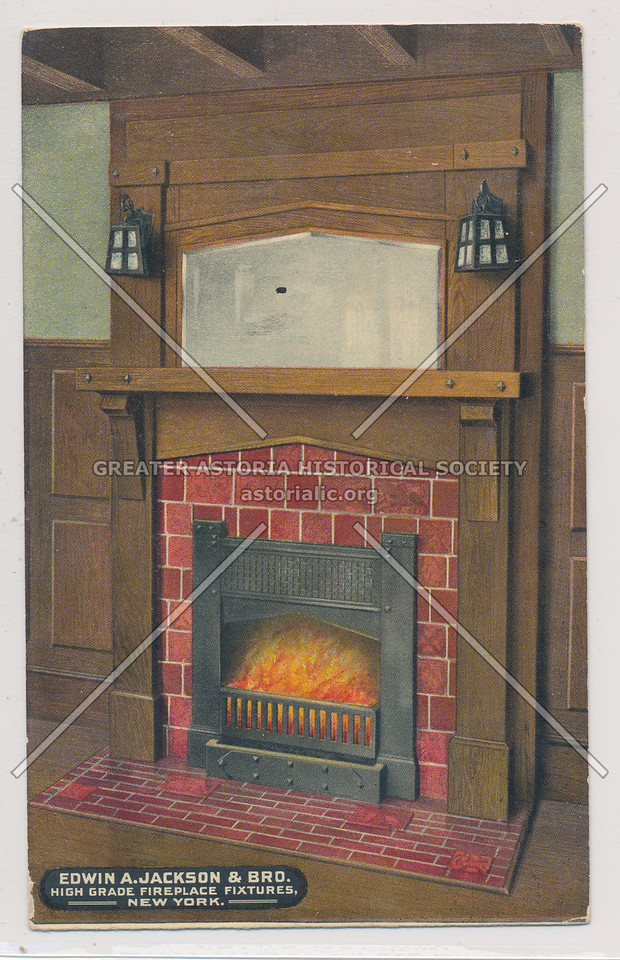 Edwin A. Jackson & Bro.: High Grade Fireplace Fixtures, NY
