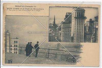 Botvel au Canada: NEW-YORK et le Pont de Brooklyn