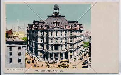 Post Office, New York.