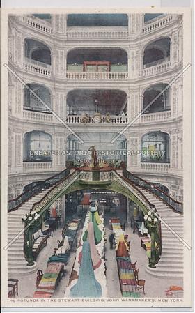 The Rotunda In The Stewart Building, John Wanamaker's, New York