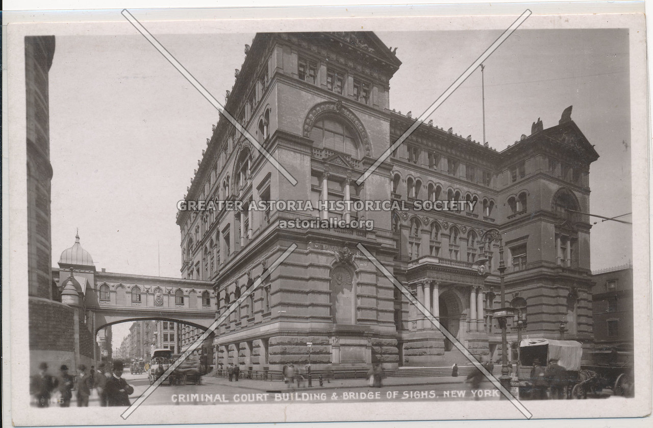 Criminal Court Building & Bridge Of Sighs, New York