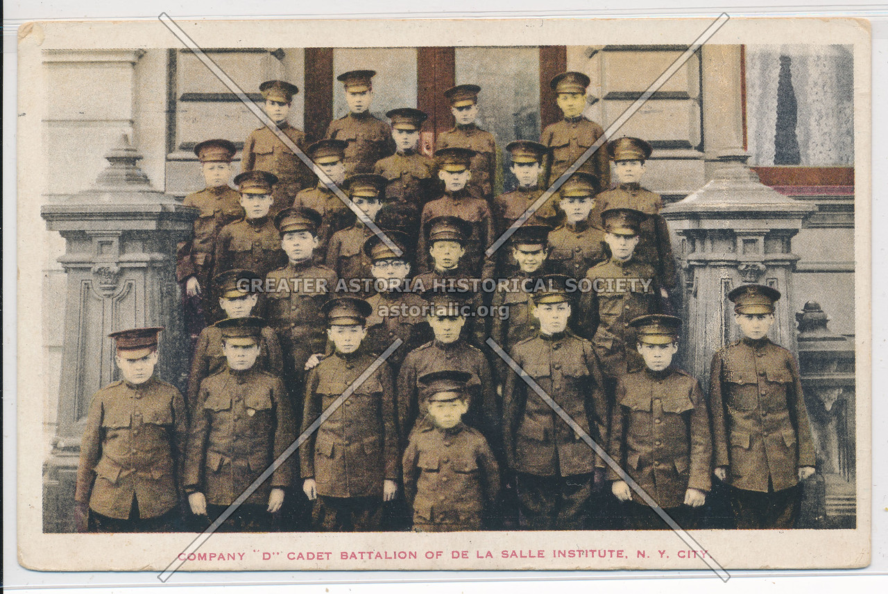 "Company ""D"" Cadet Battalion Of De La Salle Institute, N.Y. City"