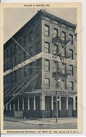 Office-Salesrooms-Warehouse: 197 West St. (Cor. Jay St.)