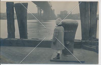 Under Williamsburg Bridge, Brooklyn, N.Y.