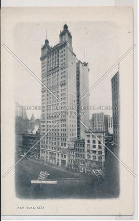 New York City, Park Row Building