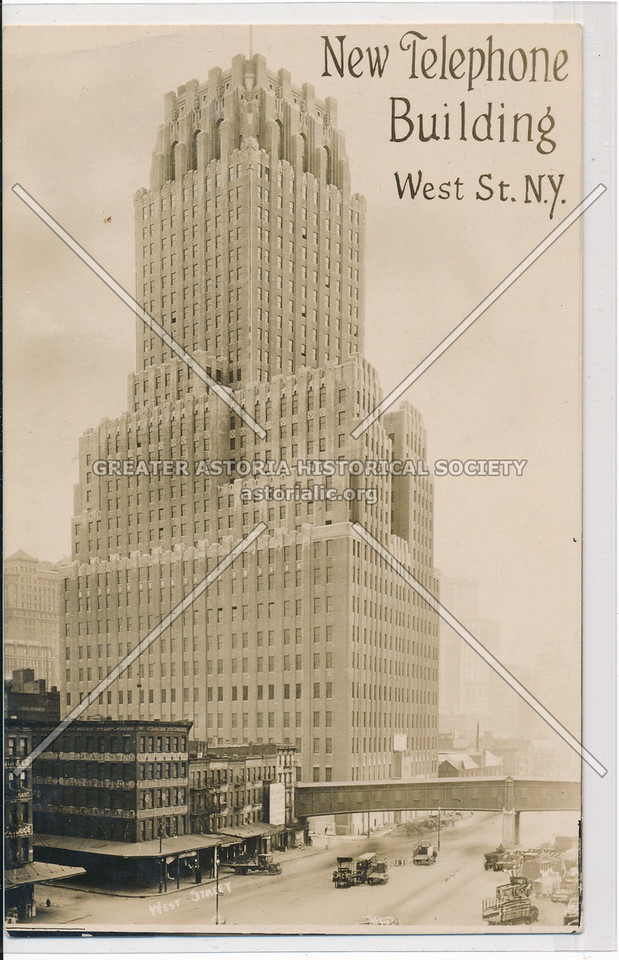 New Telephone Building, West St. N.Y.