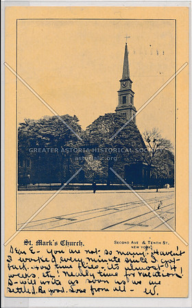 St. Mark's Church, Second Ave & Tenth St., New York