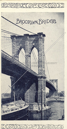 Souvenir of New York City: Brooklyn Bridge