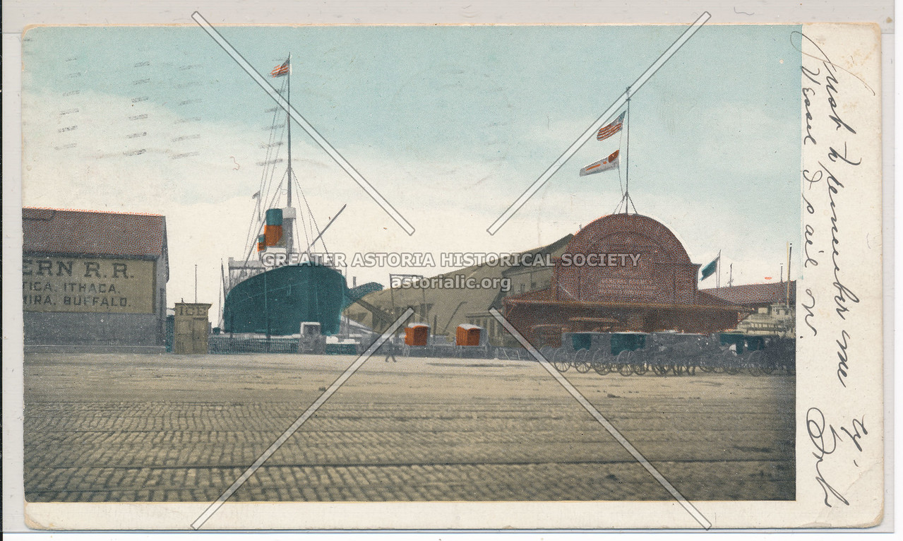 Northern R. R. Hudson River? Piers