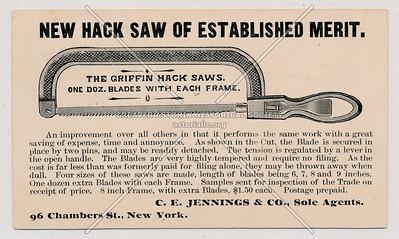 New Hack Saw Of Established Merit