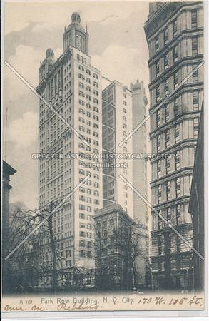 Park Row Building, N.Y. City, 170 W. 105 St.