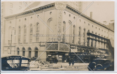 Academy of Music, 14th Street, Irving Pl, NY