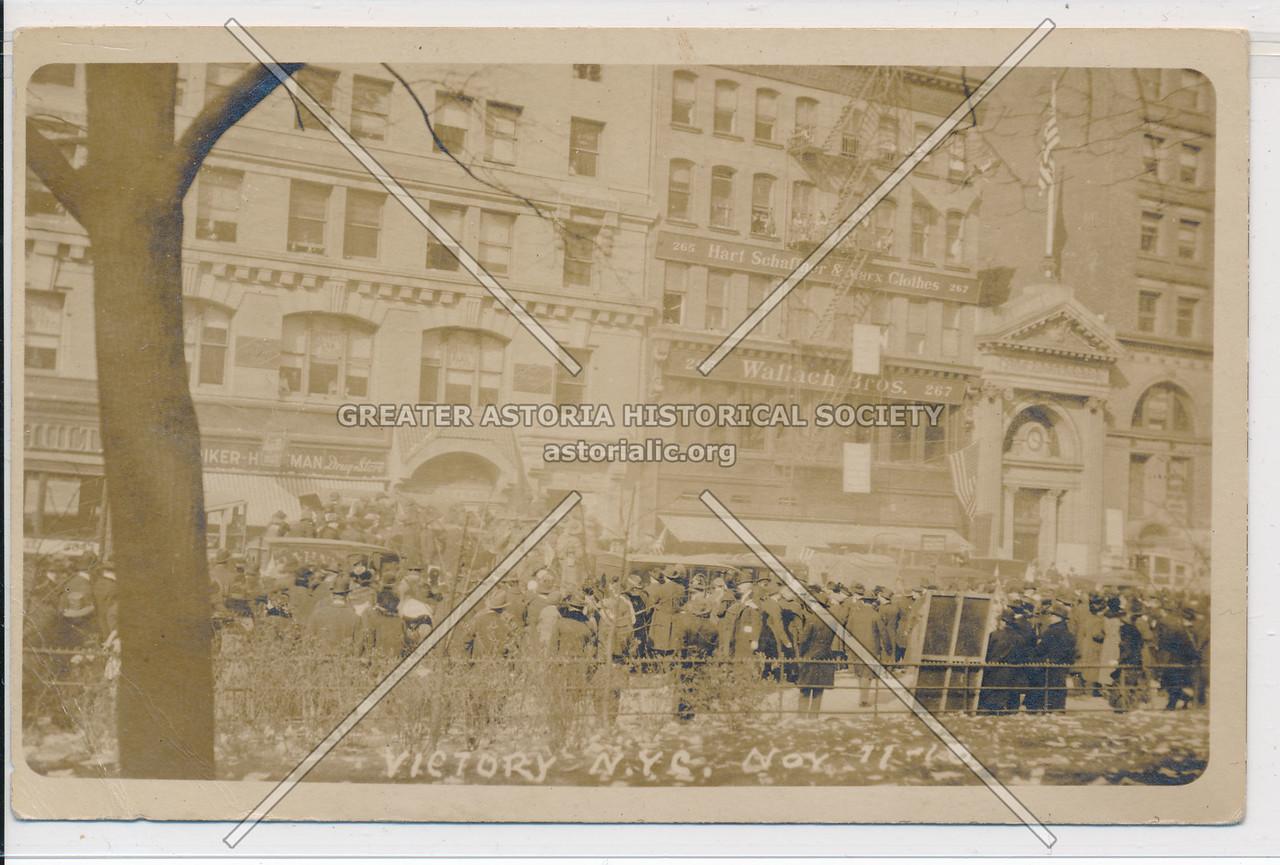 Victory Parade, Union Sq, NY 11/11/18
