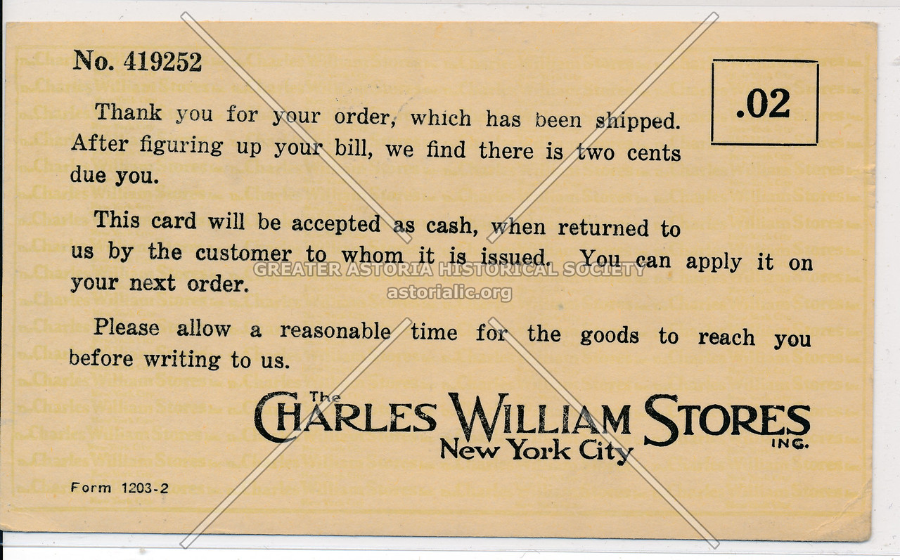 The Charles William Stores, New York City