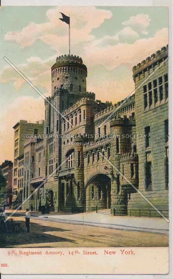 9th Regiment Armory, 14th Street, NY