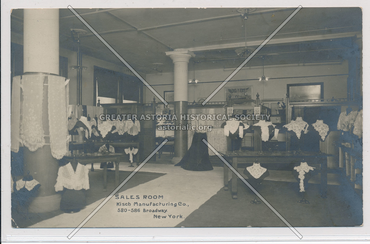 Sales Room, Kisch Manufacuturing, 580 B'way, NY
