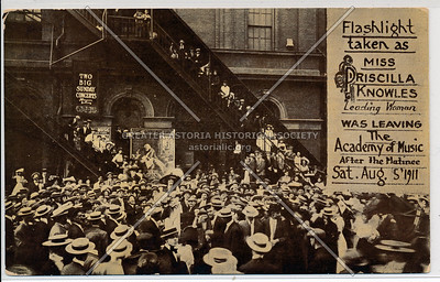 Academy of Music, 14th Street, Irving Pl, NY 1911