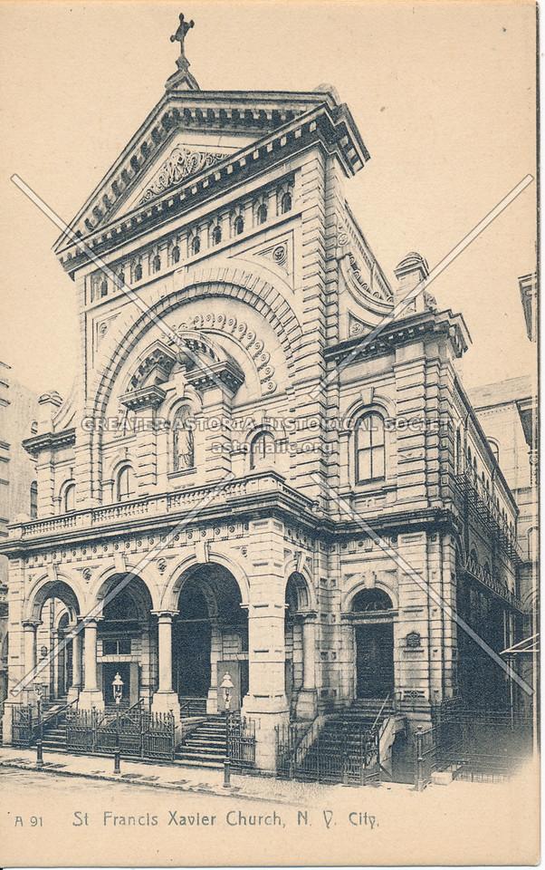 St Francis Xavier Church, N.Y. City