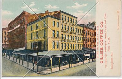Gillies Coffee Co, 233-239 Washington St, NY