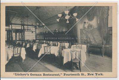 Luchow's Restaurant, NY