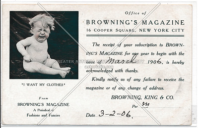 Brownings Magazine, 16 Cooper Sq, NY