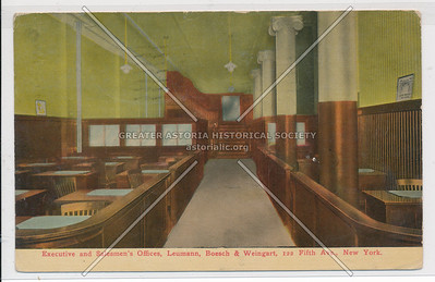 Executive & Salesmen's Office, Leumann, Boesch, & Wiengart, 112 5th Ave, NY