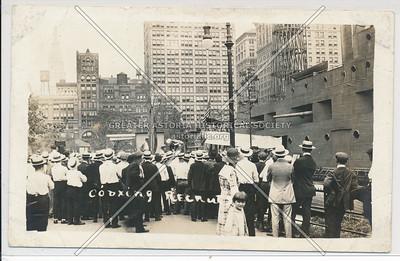 Coaxing Recuits Union Sq, NY