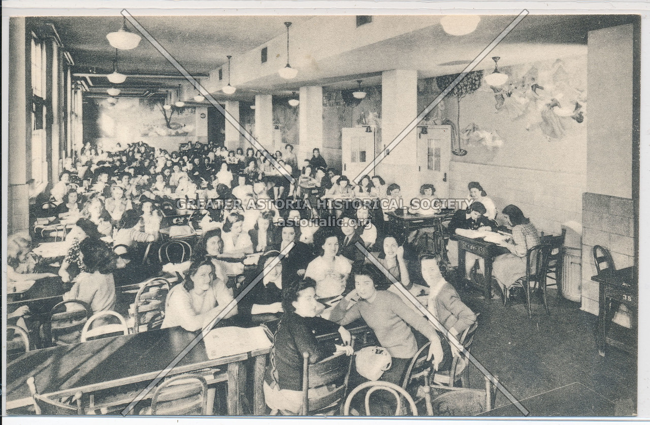 Lunch Room Washington Irving H S