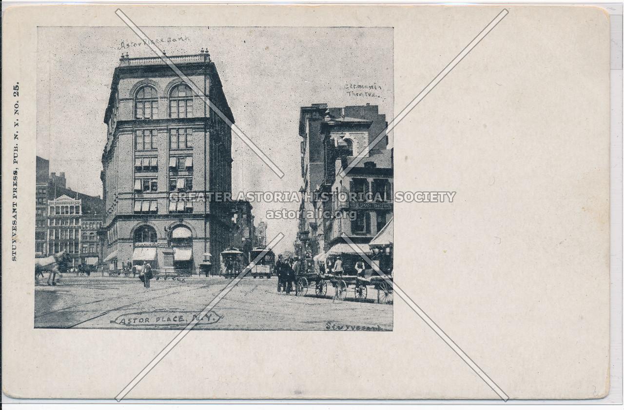 Astor Place, NY
