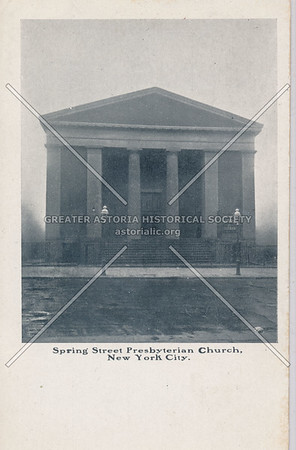 Spring Street Presbyterian Church NY